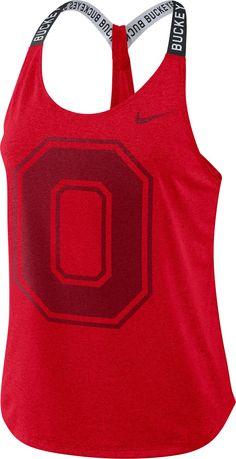 Ohio State Buckeyes, Scarlet, Plus Size Activewear, Sports Fan Shop, Trendy Plus Size, Nike Women, Ashley Rivera, Tank Tops, Fitness