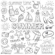 Summer Royalty Free Stock Vector Art Illustration