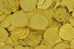 Shiny Gold Doubloon Replicas Pirate Coins, You Choose, Pirate Party, Personalized Items, Neverland, Pirates, Harry Potter, Gold, Parenting