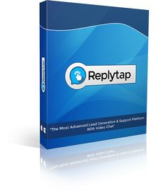 ReplyTap is the most advanced video chat lead generation and support platform with extensive screen share, live support, customer support and knowledgebase features. Email Marketing, Affiliate Marketing, Internet Marketing, Customer Support, Customer Service, Lead Generation, All In One, Software, Management
