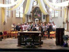 Donderdagavond 23 mei 2013 was de generale repetitie van het Uulen-mannenkoor in de St. Martinuskerk in Oud-#Zevenaar voor de viering zondag 26 mei 2013 vanaf 10.00u i.v.m. het 55-jarig jubileum van Carnavalsvereniging De Nachtuulen. via twitter @Nachtuulen.