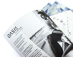 """Gestaltung und Umsetzung des 8-seitigen Leporellos """"OASIS Seiersberg Sueno Doppelhäuser"""" für Strobl Bau – Holzbau Editorial Design, House, Editorial Layout"""