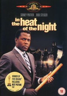 "1967 - Best picture- ""In the Heat of the Night"": A black detective is asked to investigate a murder in a racist southern town."