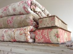 French quilts/ boxes