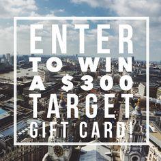 $300 Target Giveaway on DailyKaty.com