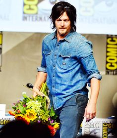 Norman Reedus, SDCC San Diego Comic Con July 2014 #TheWalkingDead