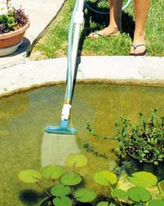 With This Pond Vacuum, You Donu0027t Need To Empty Your Pond To Clean It.  Connect The Muck Vac To Your Garden Hose To Vacuum Up Muck, Algae And Fish  Waste.