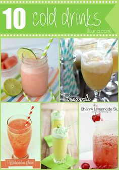 10 Cold Drinks - Per