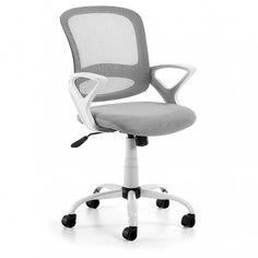 Un práctica silla de oficina o para un escritorio.