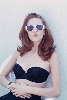 Diane Lane with Glasses, Los Angeles, 1994 © Steve Schapiro