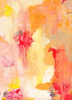 Original abstract acrylic painting on canvas, one of a kind, expressionistic painting on canvas by W. Reynolds Orr