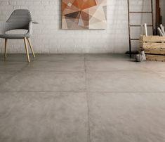 Beton ciré look vloertegel taupe in 80x80, prachtige uitstraling (56-RV). Verkrijgbaar in 30x60, 60x60, 80x80, 60x120, Tegelhuys