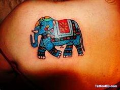 asian elephant tattoo , Elephant Tattoos