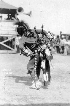 Comanche dancer - circa 1926