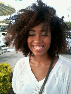Beautiful carefree curls - http://www.blackhairinformation.com/community/hairstyle-gallery/natural-hairstyles/beautiful-carefree-curls/ #curlyhair #naturalhair
