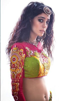 Buy lehenga dupatta draping styles pretty combination with long choli designs Beautiful Girl Photo, Beautiful Girl Indian, Most Beautiful Indian Actress, Indian Actress Images, Indian Girls Images, Beauty Full Girl, Beauty Women, Indian Girl Bikini, Beautiful Bollywood Actress