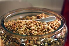 Vegan granola recipe.