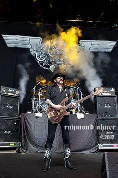 Motörhead - Rockstar Energy Drink Mayhem Festival@ Shoreline Amphitheatre - Mountain View, CA. 7/1/12.