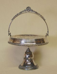 Antique Victorian Aesthetic Rockford Silver Silverplate Brides Bridal Basket #RockfordSilverPCo