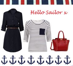 Affordable savvy women's nautical fashion, shop online at Tongues Will Wag Fashion