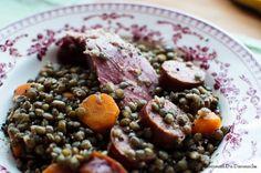 Une recette de petit salé aux lentilles pour préparer à la maison ce grand classique de nos plats d'hiver.