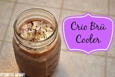 Crio Brü Brewed Cocoa Review & Crio Brü Cooler Recipe! | Optimistic Mommy