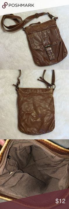 🎄Holiday Sale! Everything $10! Leather Satchel! • Brown leather satchel!                                           • One big pocket on the outside front, one small zipper pocket, 2 small open pockets inside (as shown in pictures); brown interior!                              • Feel free to ask for measurements!                                  • Inquiry and offers welcome! Bags Satchels