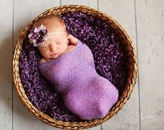 As Rosemary is to the Spirit, so Lavender is to the Soul <3  Leighton Heritage Lavender Newborn Stretch Wrap