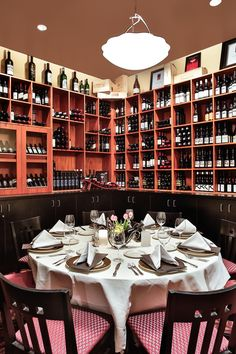 El gaucho bellevue 39 s pepper bridge private dining room for Best private dining rooms seattle