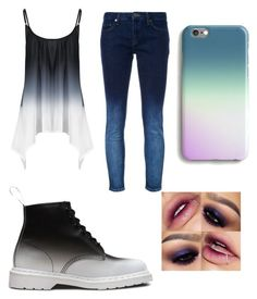 """""""Ombre Queen"""" by gaybandfanatic on Polyvore featuring Victoria, Victoria Beckham, Dr. Martens and Harper & Blake"""