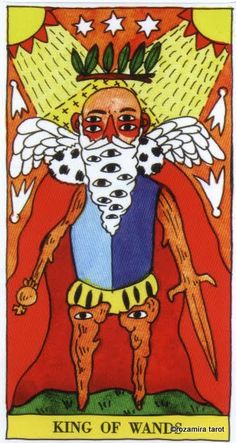 King of Wands - Tarot del Fuego