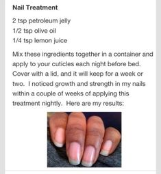 Grow Your Nails Strong And Long!