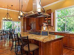 Great kitchen island