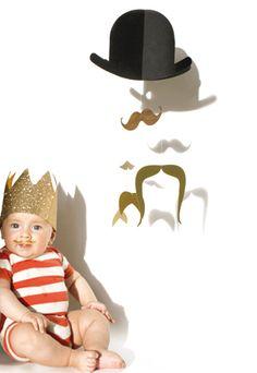 jäll & tofta ヒゲのモビール ドイツブランド Mr.Moustaceh GOLD http://bcbasics.com/?pid=65861323