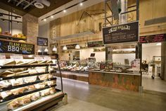 It's important for the modern grocery store to become a destination and give shoppers plenty of options. It's easy to buy pizza by-the-slice, sandwiches, and more.