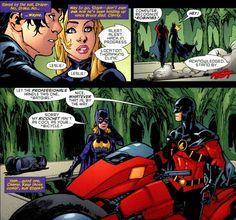red robin and batgirl 4