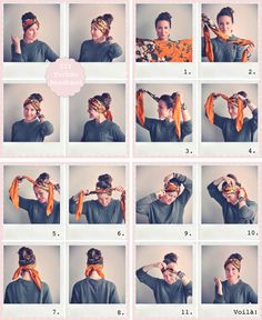 DIY super easy turban headband. Great for beach and festival style. Emily Salomon | Bloggers Delight