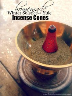 How to Make Winter Solstice Incense Cones