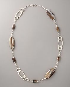 Bedeg Sautoir Necklace  by John Hardy at Neiman Marcus love the agate stones.