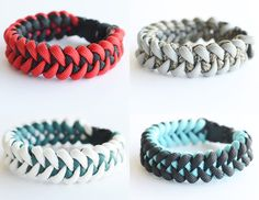 Shark's Jawbone Paracord Bracelet. I love this design. If only it would turn out this good when I make it...