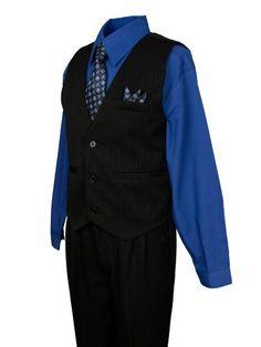 da0dfe9e81b59 Shirt Vest, Dress Shirt, Entourage, Ring Bearer, Royal Blue, Larger,  Wedding Styles, Button Down Shirt, Shirt