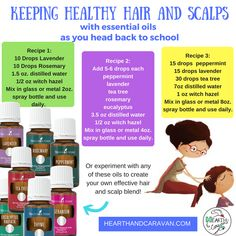 Back to School With Essential Oils--Healthy Hair and Scalps Thieves Essential Oil, Essential Oil Blends, Young Living Oils, Young Living Essential Oils, School Days, Back To School, Lavender Recipes, Citrus Oil, Diffuser Jewelry