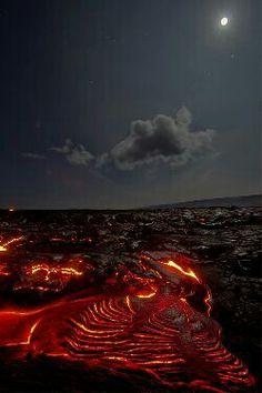 Moonlight Lava