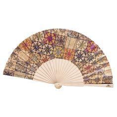 Kork Fächer «Mosaico» – Veganer Fächer aus Kork – Webshop für Kork Hand Fan, Home Appliances, Mosaics, Mosaic Madness, Personal Style, Natural Colors, Vegans, Weaving, Handmade