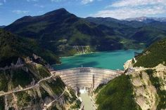 The Inguri Dam, on the Inguri River in Georgia, is the world's second highest concrete arch dam with a height of 271.5 metres (891 ft). The Engurhesi (Georgian: ენგურჰესი) hydro-electric power plant is the largest in the Caucasus region. Georgia is one of the world's leading hydro-electric power producers. 85% of Georgia's total energy consumption is supplied by domestic hydro power plants.