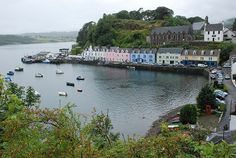 Isle of Skye Scotland Attractions - Welcome to Portree! Claimed as the largest town in Isle of Skye Scotland