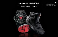 "SUPRA x G-Shock Present ""It's About Time"""