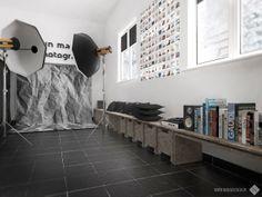 Minimal OSB photo studio www.nanadesign.pl
