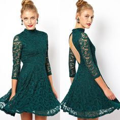 Find More Dresses Information about Women's Hollow Out  Evening Party Plus Size Short lace Dress Summer 2015 O Neck Patchwork Hollow Out Full Fashion,High Quality dress fancy,China lace ball gown wedding dresses Suppliers, Cheap lace purple dress from Billion Praise on Aliexpress.com