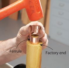 Handles for Turning Tools - Woodworking Techniques - American Woodworker